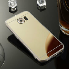 Luxury Ultra-Thin Silicone TPU Mirror Case Cover For Samsung Galaxy Note 3 Gold