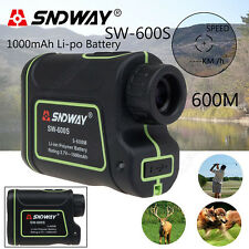 SNDWAY Distance Laser 600M Finder Outdoor Golf Rangefinder Meter Speed Measurer