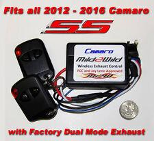 Mild to Wild Dual Mode NPP Exhaust Control, Camaro SS 2012-2016