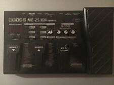 Boss ME25 ME-25 Guitar Multi Effect Pedal + Power Supply  - Good Condition