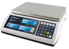 CAS S-2000 Jr/LCD Price Computing Scale 60X0.02 lb,Dual,NTEP,Legal for Trade,New