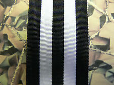 F/S Medal Ribbon- Service Medal Of The Order Of St John