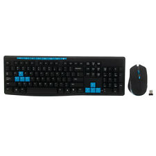 Multimedia 1000 DPI 2.4G Wireless Keyboard + Optical Mouse for PC Laptop