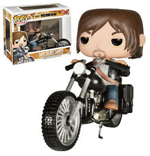 THE WALKING DEAD FIGURE 12 CM POP FUNKO DARYL DIXON CHOPPER ZOMBIE MOTO TV #1