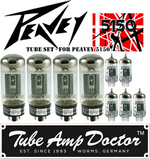 Tube Set for Peavey 5150 guitar amp Tube Amp Doctor vacuum valve tubes