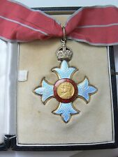 ENGLAND ORDER OF THE BRITISH EMPIRE COMMANDER, superb quality,case of issue