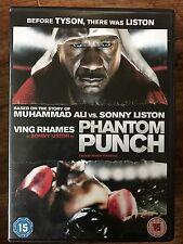 Ving Rhames as Sonny Liston Vs Muhammad Ali in PHANTOM PUNCH Boxing Film UK DVD