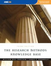 Research Methods Knowledge Base by William Trochim, James P. Donnelly and...