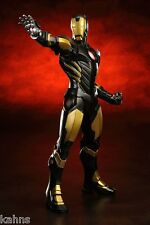 Kotobukiya IRON MAN BLACK GOLD ARTFX+ Statue Avengers Marvel Now! - NIB