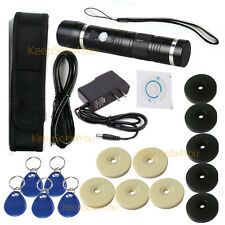 Security patrolling LED lighting RFID Auto-induction Guard Tour Patrol Monitor
