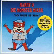 "7"" HARRY & DIE MONSTER MIXER So muss es sein TED HEROLD/ MANUELA Medley ZYX 1990"