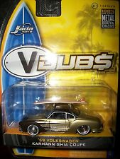 (2006) Jada - VDUBs 1959 VW Karman Ghia Coupe; MIP, Wave 1