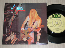 "VARDIS - LET'S GO / SITUATION NEGATIVE - 45 GIRI 7"" UK PRESS"