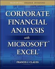 Corporate Financial Analysis with Microsoft Excel McGraw-Hill Finance & Investi