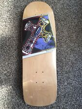 "Powell Peralta Ray Underhill Skateboard Deck 30.5"" X 9.5"" Nos In Shrink"