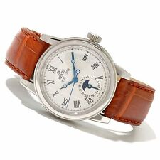 Gevril Men's 2302L Chelsea Moon Phase Swiss ETA 2824 AUTOMATIC L. EDITION Watch