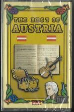 THE BEST OF AUSTRIA – MUSIC CASSETTE – TAPE – NEW - UNOPENED