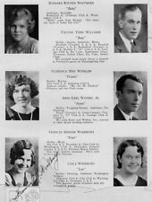 1930 Portland ME Deering High School Yearbook~Photos~HIstory~Football~Autographs