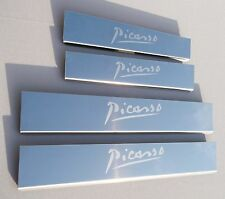 Citroen C4 Picasso Mk2 (released 2013) Stainless Sill Plates / Sill Protectors