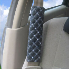 2Pcs Car Safety Seat Belt Shoulder Pads Cover Cushion Harness Pad Protector Pad