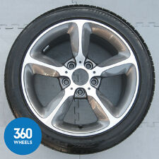 "1 X GENUINE BMW 1 SERIES 17"" 382 5 STAR SPOKE ALLOY WHEEL TYRE 6MM 36116796208"
