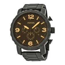 NEW Fossil Nate Men's Chronograph Quartz Watch - JR1356