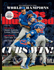 CHICAGO CUBS - 2016 WORLD SERIES CHAMPION - SPORTS ILLUSTRATED COMMEMORATIVE