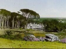 Cecil J. Rhodes Home Near Cape Town South Africa, Magic Lantern Glass Slide