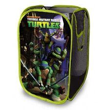 Teenage Mutant Ninja Turtles Pop Up Hamper Room Toy Clothing Storage Basket Bins