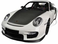 2011 PORSCHE 911 (997 II) GT2 RS WHITE W/ BLACK WHEELS 1/18 MINICHAMPS 100069405