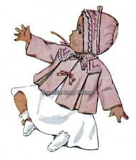 Reproduction Simplicity Baby SEWING PATTERN 1950s Coat Jacket Bonnet Hat  1/2- 1