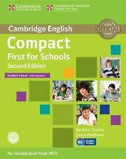 COMPACT FIRST FOR SCHOOLS STUDENT'S BOOK WITH ANSWERS WITH CD-ROM 2ND EDITION...