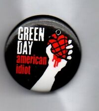 GREEN DAY American Idiot  BUTTON BADGE - AMERICAN PUNK ROCK BAND 25mm Pin