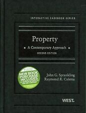 Interactive Casebook Ser.: Property : A Contemporary Approach by Raymond R....