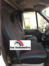 HYUNDAI H100 DELUXE VAN SEAT COVERS RED PIPING 2+1