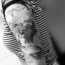 Einmal Tattoo Fake Tattoo  Geisha Medium wasserfest Waterproof Flash (HB-046)