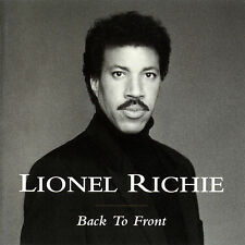 Lionel Richie - Back to Front 1992 MOTOWN LABEL CD ALBUM