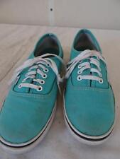 VANS lace-up canvas shoe Cyan Women's size US 7.5/UK 5 / Eur 38   253 P
