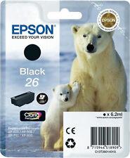 1x Original EPSON T26 TINTE PATRONEN XP510 XP520 XP600 XP605 XP610 XP615 XP620