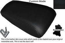 BLACK STITCH CUSTOM FITS HONDA LS 125 R 95-03 REAR LEATHER SEAT COVER ONLY