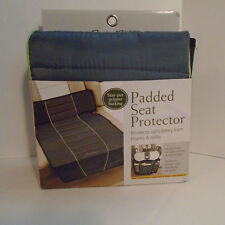 Eddie Bauer Baby Padded Seat Protector NIP NEW Car Cover Gray Grey