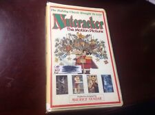 Nutcracker The Motion Picture VHS OOP Maurice Sendak Ballet - Christmas