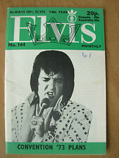 ELVIS PRESLEY MONTHLY MAGAZINE No 164