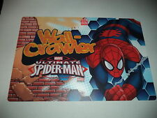 Marvel Ultimate Spider Man Wall Crawler BPA FREE Placemat