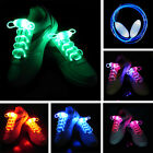 LED Light Up Shoe Shoelaces Shoestring Flash Glow Stick Party Bar Club Halloween