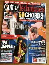 Guitar Techniques magazine & CD: January 2010