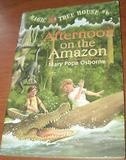 AFTERNOON ON THE AMAZON MAGIC TREE HOUSE #6 by MARY POPE OSBORNE 1995 PB