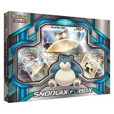 Pokemon XY Snorlax GX Collection Box: Booster Packs + Promo Cards