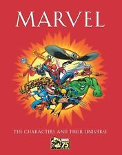 Marvel : The Characters and Their Universe by Michael Mallory (2014, Hardcover)