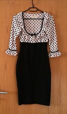 Wheels & Dollbaby Birkin Dress Polka Dots Collar Kleid Pin Up Vintage Rockabilly